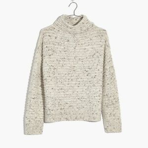 NEW** Madewell Donegal Belmont Mockneck Sweater